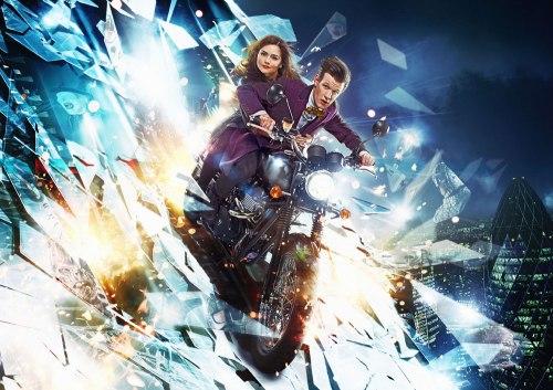 The Doctor really loves that anti-grav bike.